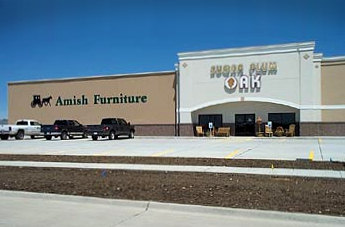 Sugar Plum Oak Amish Furniture Showroom
