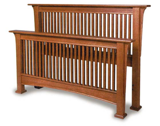Millcreek Mission Amish Bed