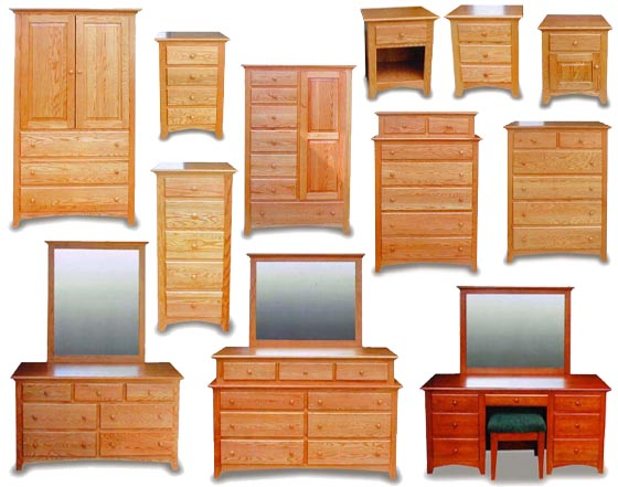 Shaker Amish Bedroom Furniture Collection | Amish Bedroom ...
