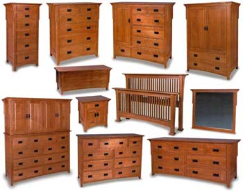 Excellent Millcreek Mission Amish Bedroom Furniture Collection Amish Interior Design Ideas Clesiryabchikinfo