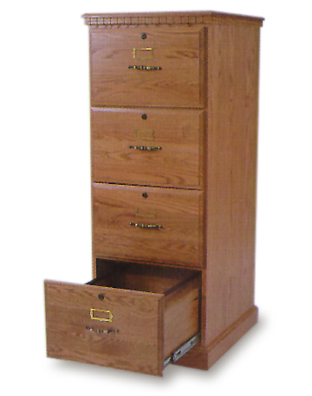 Amish 4 Drawer File Cabinet Amish Office Furniture Sugar Plum Oak