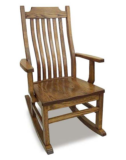 Amish 76 Mission Rocking Chair Zoom - Amish 76 Mission Rocking Chair ...