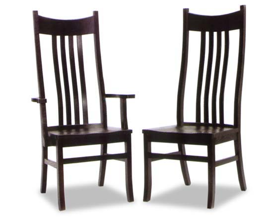 amish dining room chairs   Amish Royal Concorde Amish Dining Room Chairs   Amish ...