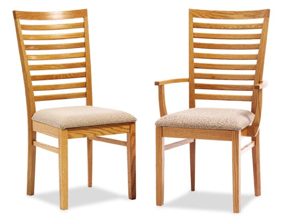 Alternate View Of Lexington Shaker Dining Room Chairs ...