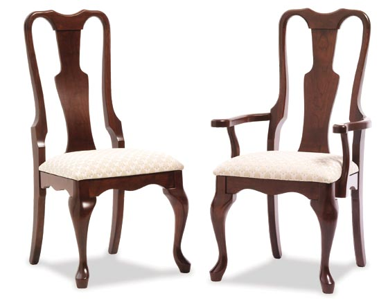 Amish Victoria Dining Room Chairs | Amish Dining Room Furniture ...