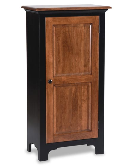 Amish Fresno Jelly Cabinet Amish Dining Room Furniture