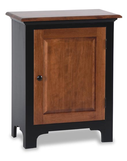 Small Fresno Jelly Cabinet Amish Dining Room Furniture