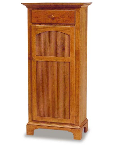 Tall New Bedford Shaker Jelly Cupboard | Amish Dining Room ...