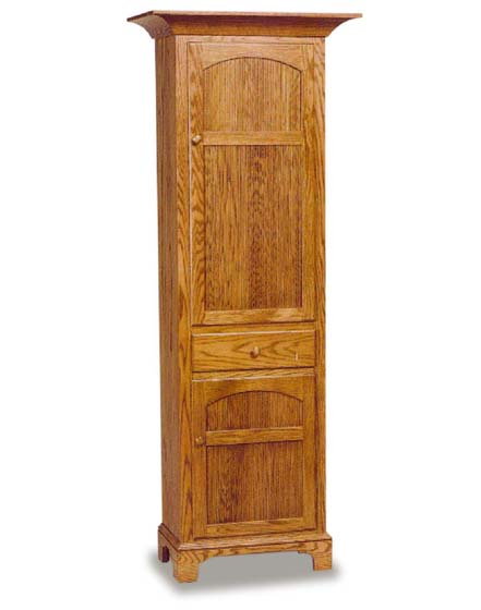 Amish New Bedford Shaker Chimney Cupboard Amish Dining