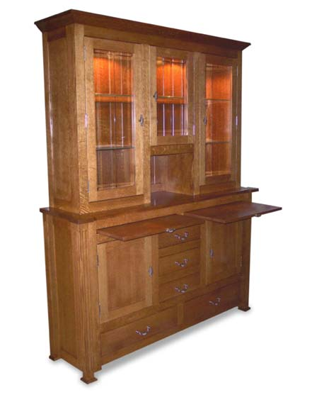 Manhattan Dining Room Hutch Amish Dining Room Furniture