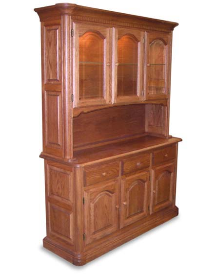 dining room hutches | Mills Run Amish Dining Room Hutch | Amish Dining Room ...