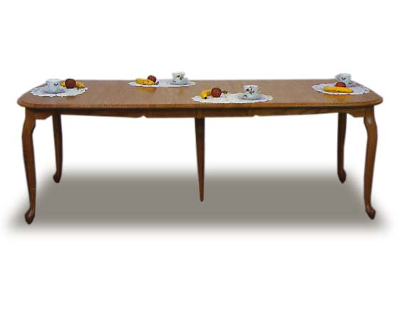 Queen Anne Dining Room Table Zoom