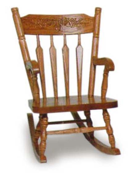 Acorn Childu0027s Rocking Chair Zoom