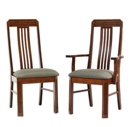 highland mission chairs amish dining room furniture
