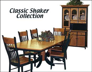 ... Alternate View Of Classic Shaker Dining Room Furniture