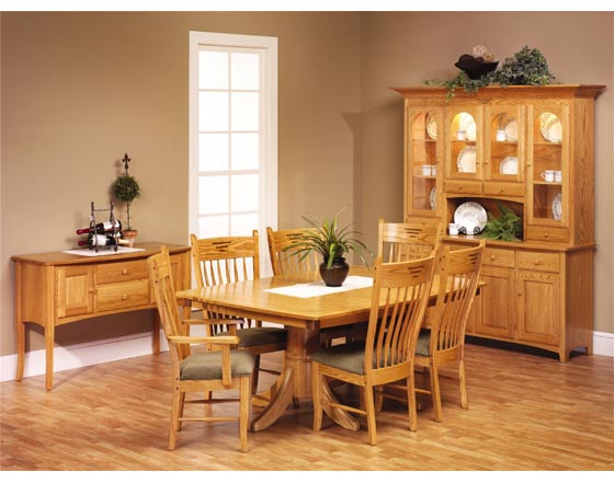 Alternate View Of Classic Shaker Dining Room Furniture ...