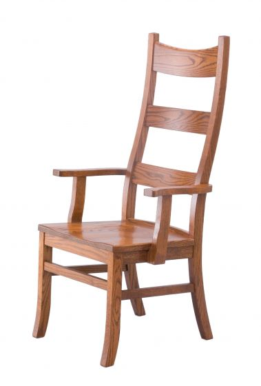 ... Alternate View Of Amish Royal Heritage Amish Dining Room Chairs ...