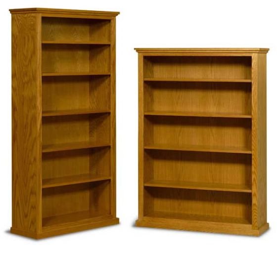 Alternate View Of Amish Bookcases