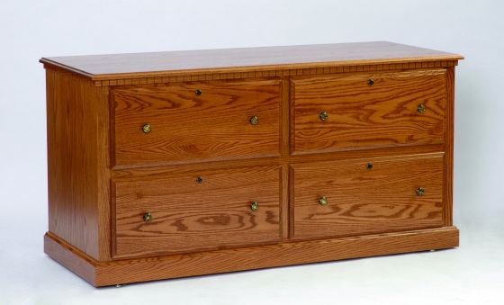 Lateral File Credenza Base Amish Office Furniture
