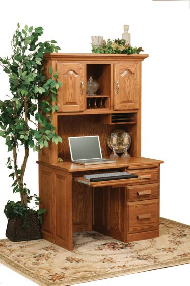 Amish Flattop Computer Desk Amish Office Furniture
