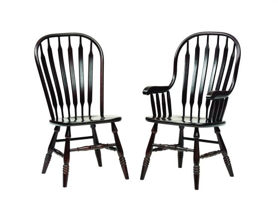 Amish Vertical slat-backed Chairs