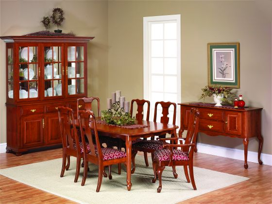 Alternate View Of Queen Victoria Dining Room Collection