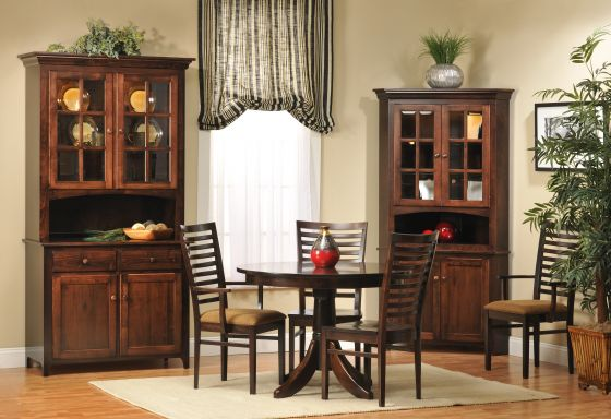 lexington shaker amish corner hutch amish dining room