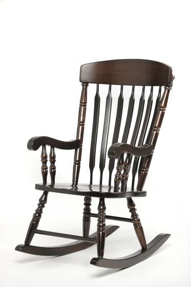 Grandmother rocking chair amish family room and theater