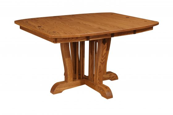 Orleans Single Pedestal Table Amish Dining Room