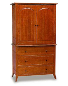 Amish Bunker Hill Armoire
