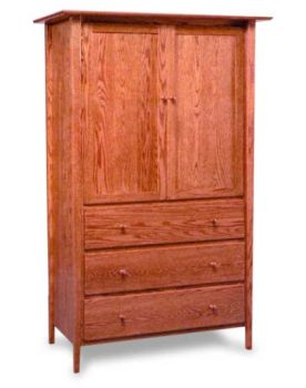 Amish Sheffield Armoire