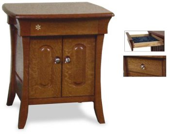 Two Door Amish Banbury Nightstand