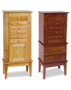 Shaker Jewerly Armoire & Split Shaker