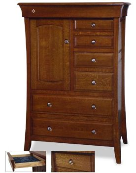 Amish Bedroom Banbury Door Chest