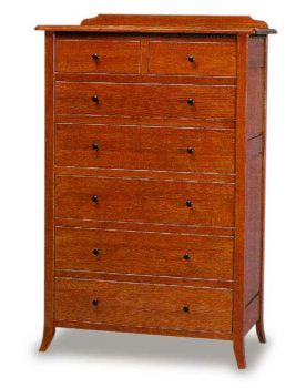Bunker Hill 7 Drawer Chest of Drawers