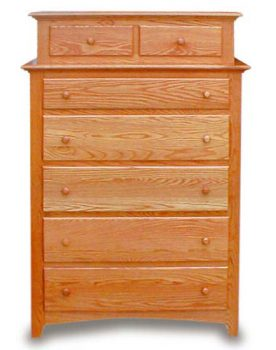 Amish Bedroom Shaker Double Chest
