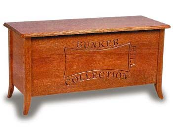Amish Bunker Hill Hope Chest with Cedar Bottom