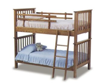 Amish Bedroom Mission Bunk Bed