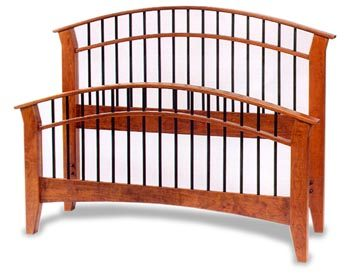 Amish Fresno Dowel Bed