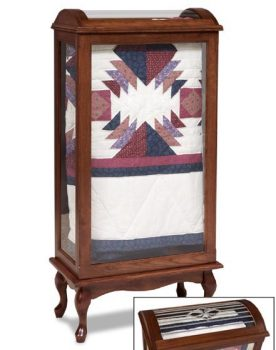 Large Enclosed Quilt Rack