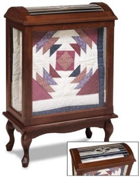 Small Enclosed Quilt Rack