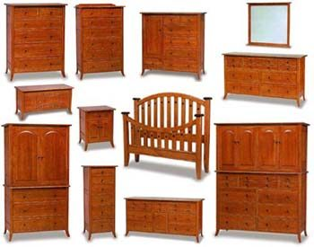 Bunker Hill Amish Bedroom Furniture Collection
