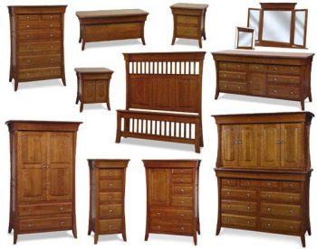 Banbury Amish Bedroom Furniture Collection