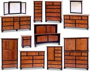 Fresno Amish Bedroom Furniture