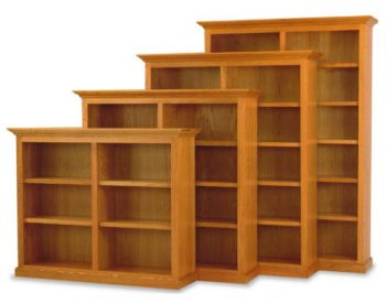 "60"" and 72"" Amish Executive Bookcases"