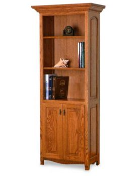 Amish Laurel Bookcase