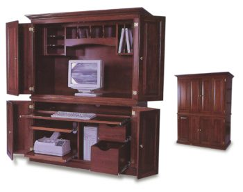 Amish Office Computer Armoire Amish Office Furniture