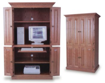 Amish built Computer Armoire