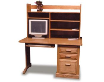 Amish Student Desk and Hutch