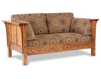 Amish Shaker Loveseat